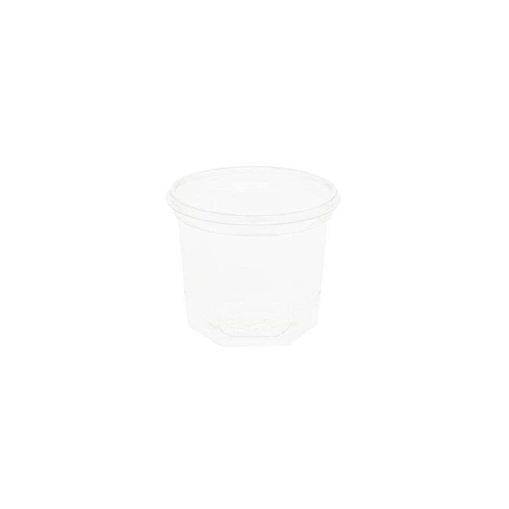 rPET-Portionsbecher 100 ml, Ø 65 mm, transparent