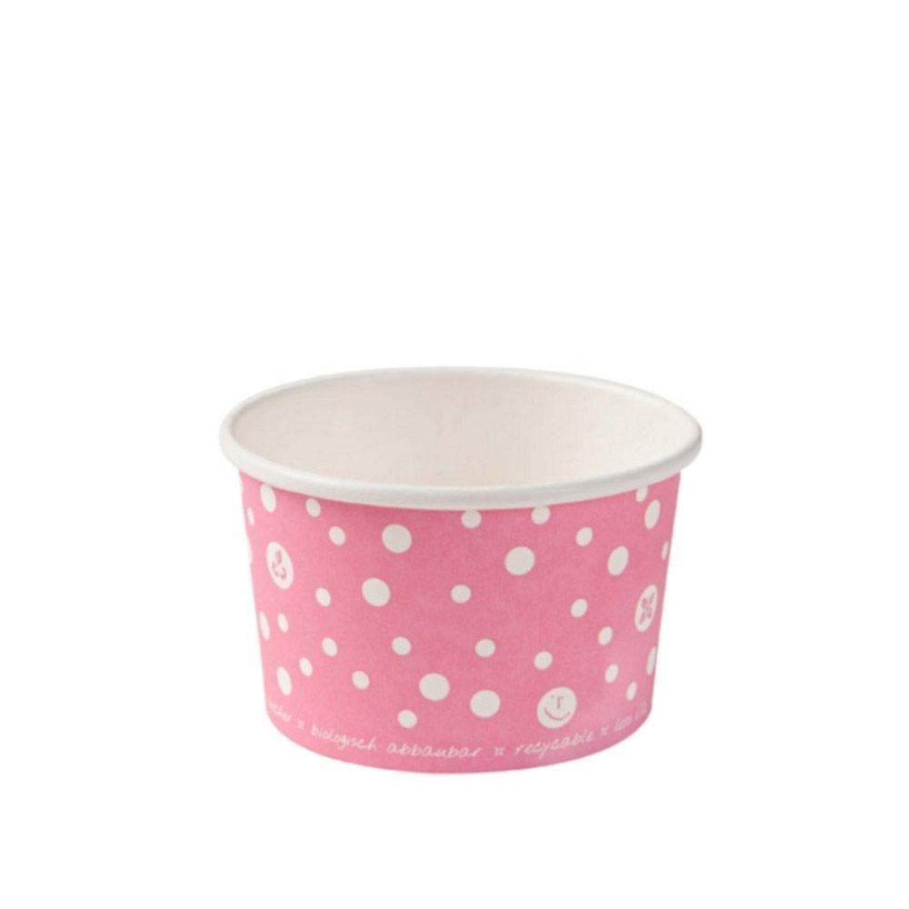 Papp-Eisbecher 75 ml / 3 oz, pink
