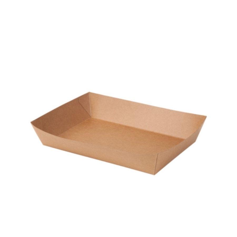 Karton-Schalen 750 ml, braun