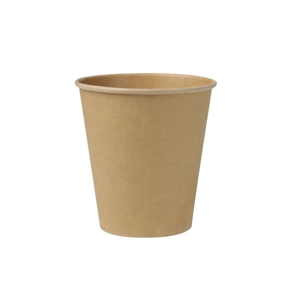 Pappbecher 250 ml / 10 oz, Ø 90 mm, ungebleicht