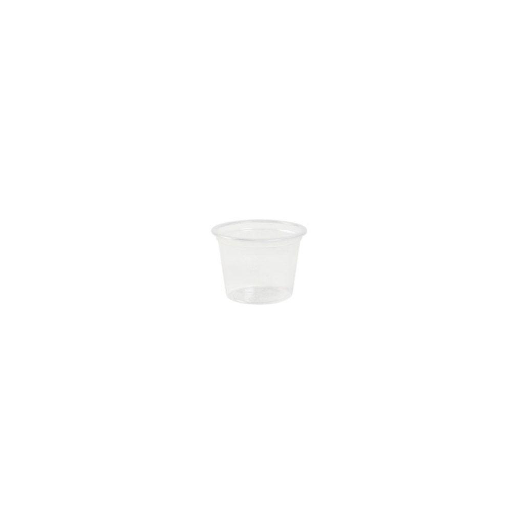 PLA-Portionsbecher 30 ml, Ø 45 mm