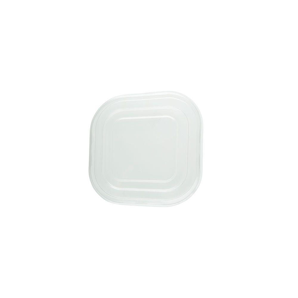 rPET-Deckel 17,9 x 17,9 cm, quadratisch