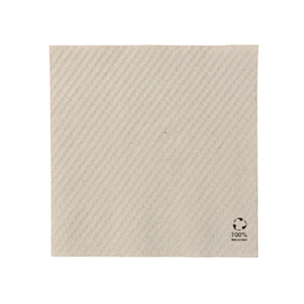 rPapier-Servietten 33 x 33 cm, 1-lagig, 1/4 Falz, ungebleicht